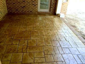 Stamped And Colored Concrete Finishing Professional